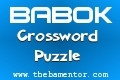 BABOK Crossword Puzzle -  BA Mentor