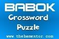 BABOK Crossword Puzzle -  BA Mentor