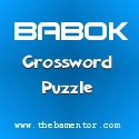 BABOK Crossword Puzzle