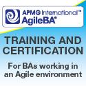 AgileBA certification
