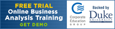 Online Business Analysis Training