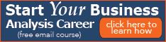 Start Your Business Anaysis Career