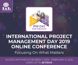 International Project Management Day 2019
