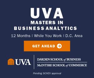UVA Masters in Business Analytics