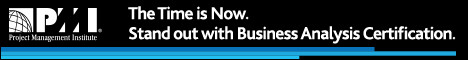 The Time is Now.  Stand out with Business Analysis Certification.