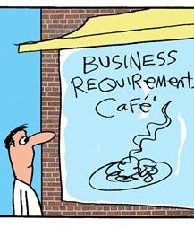 Humor: Business Requirements Cafe Menu