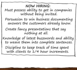 Humor: Now Hiring.... Business Analysts or ...?