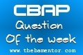 CBAP - Question of the Week