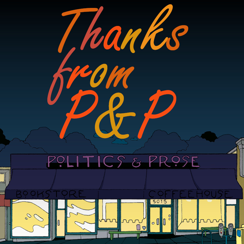 Thanks from P&P
