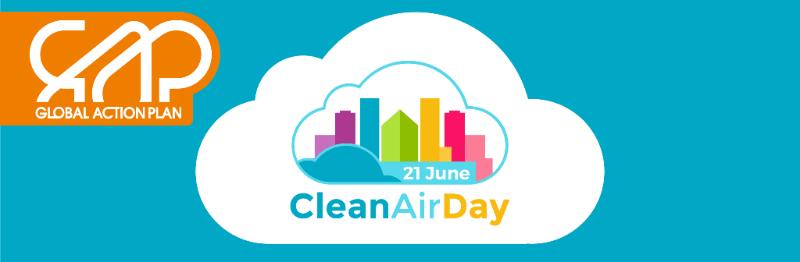 Clean Air Day (21st June)