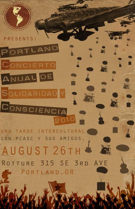 pcasc afsc concert poster