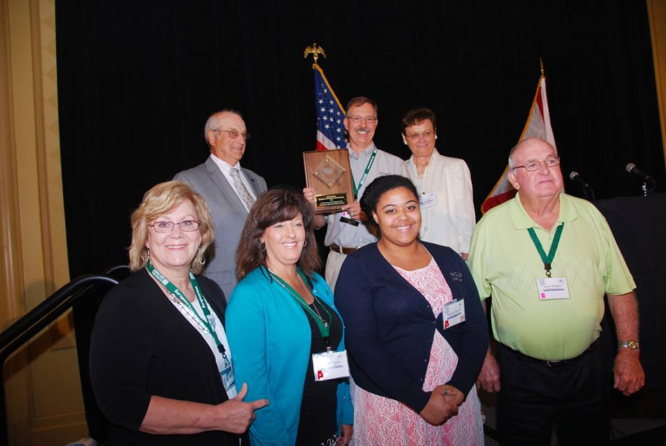 Employees and Board members receiving prestigious National Award.