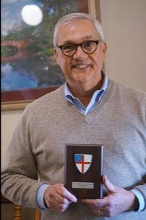 Billy Tarpley received Fran Moffat Award