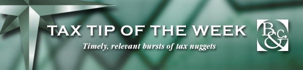 Timely, relevant bursts of tax nuggets