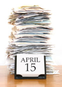 April 15 tax deadline