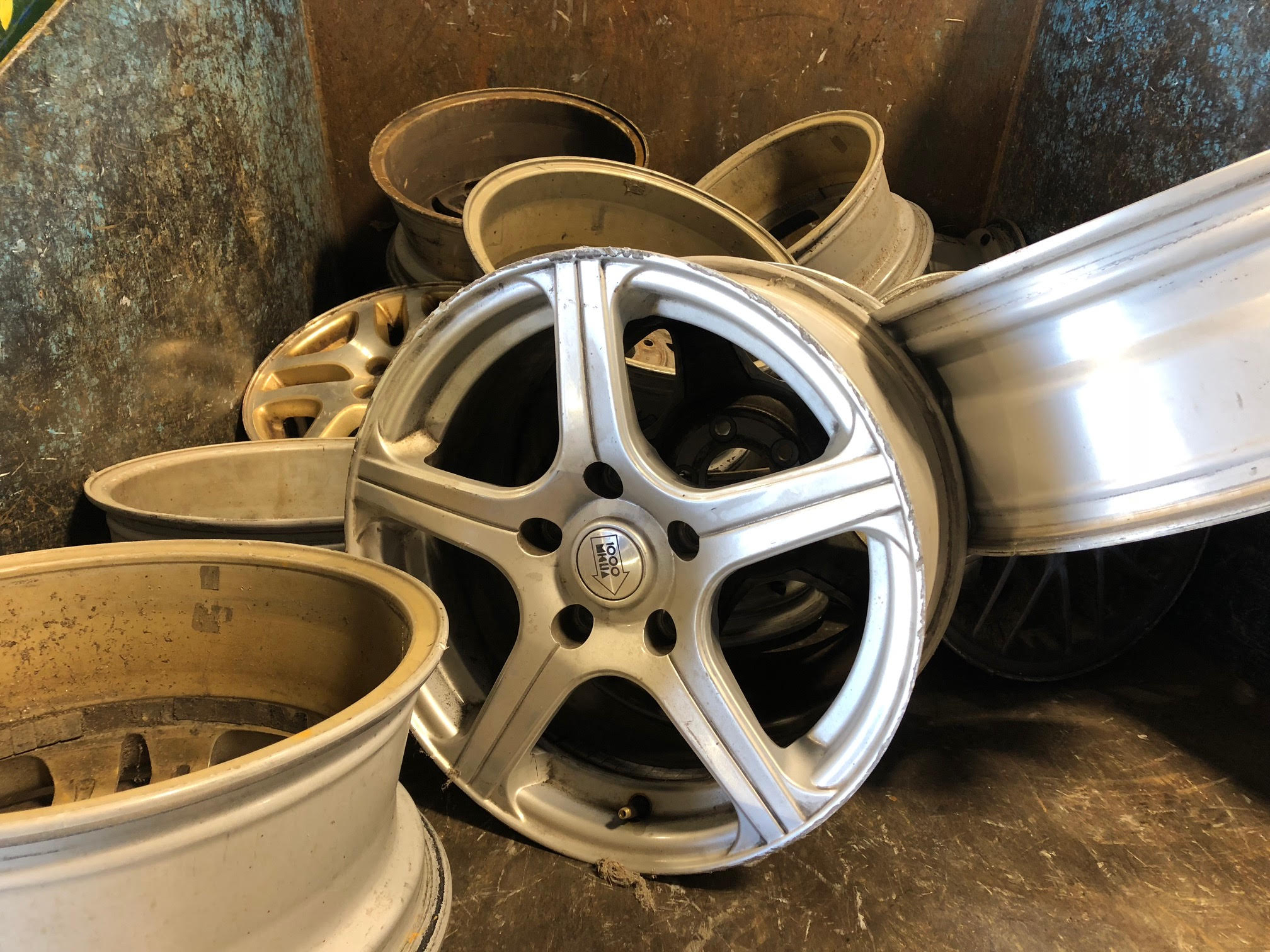 Scrap Aluminum Rims Price