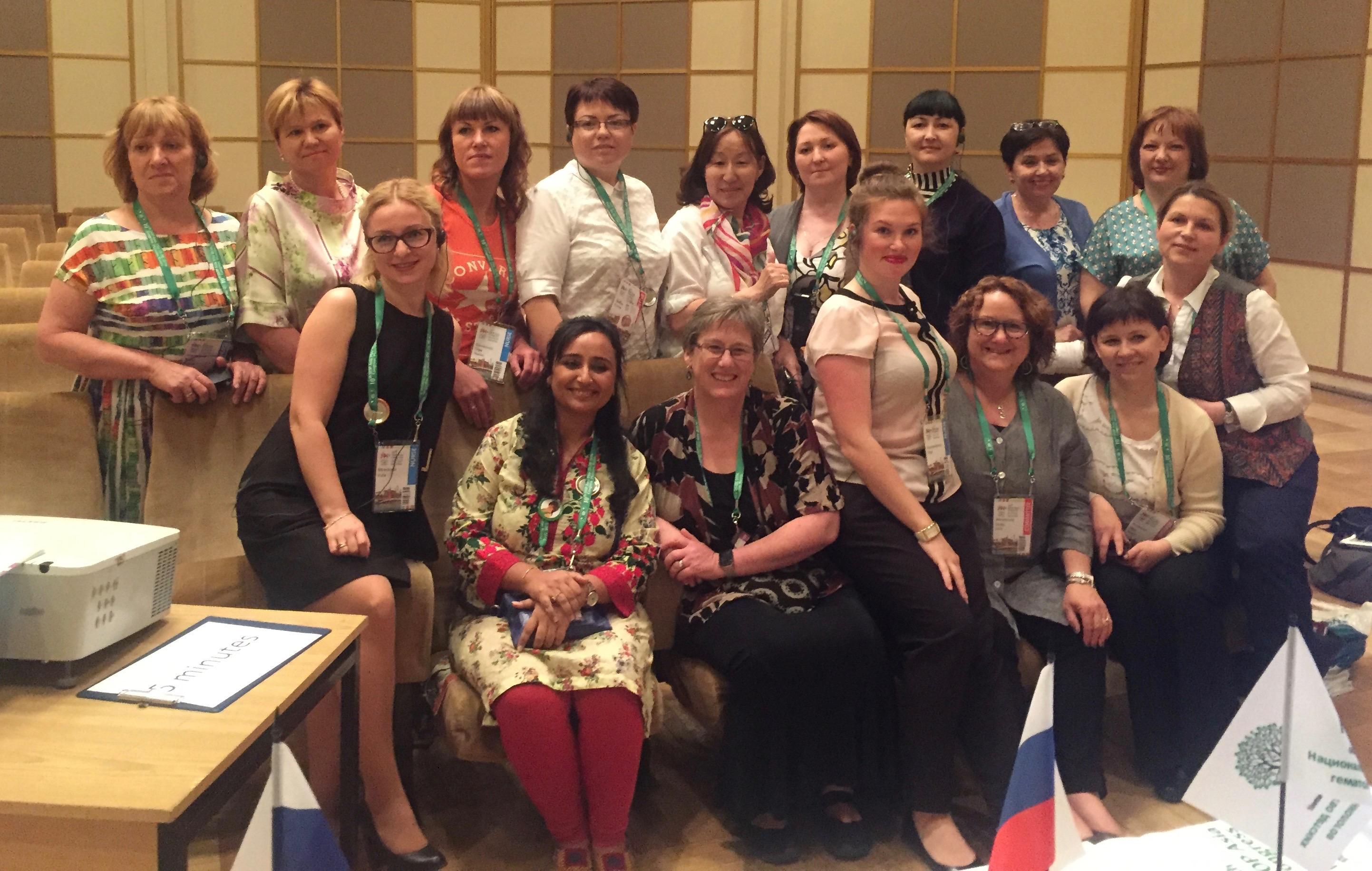 SIOP Nursing Group - Asia Congress Moscow