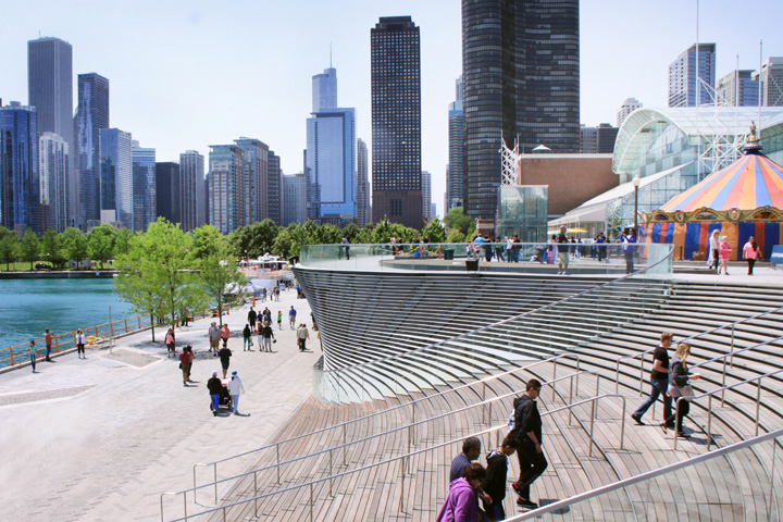 Chicago Navy Pier, courtesy of NArchitects
