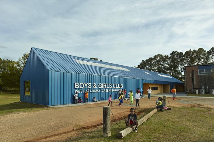 Greensboro Boys and Girls Club, Rural Studio, 2012