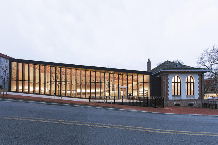 NYPL Stapleton Branch Library, Andrew Berman Architects