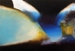 Jeremy Morgan, Aperture And Realizations 48x72, Acrylic on Canvas Over Panel, 2008