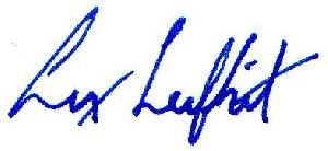 Lex Leifheit's Signature