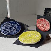 Image of Ceramic Brooches