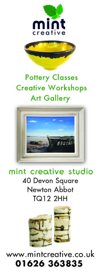 mint creative studio work shop