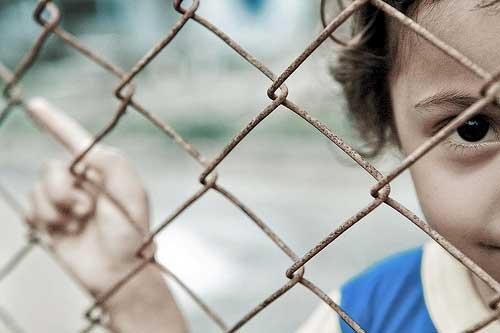 Child in detention. UN photo, flickr CC