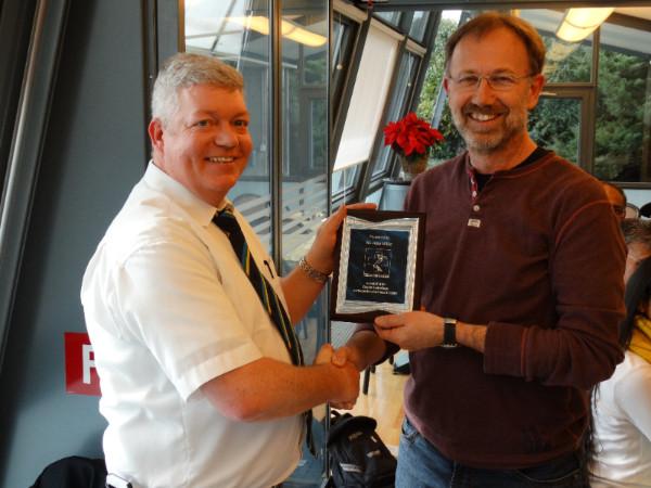 John Millar Services To Cricket Award
