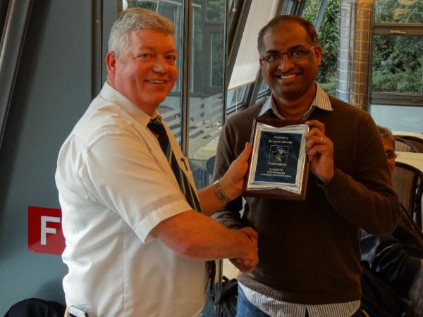 Asvin Lakkaraju Services To Cricket Award