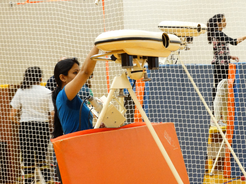 Saphires at indoor cricket nets