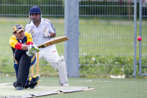 Shafqat Hussein (Man Of the Match: 93 & 2 wkts)