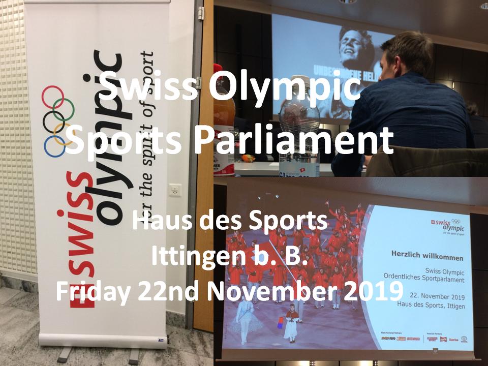 Swiss Olympic Sports Parliament 2019