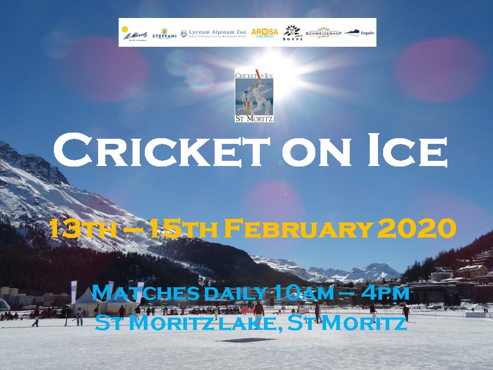 Cricket on Ice (13-15.2.2020)