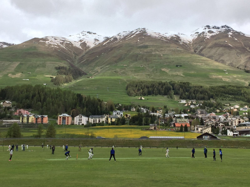 Swiss Junior Cricket Festival - Zuoz, Switzerland (4 & 5.6.2016)