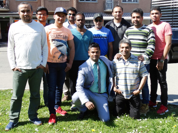 Participants at the Introduction to Umpiring Course in Winterthur (8.4.2017)