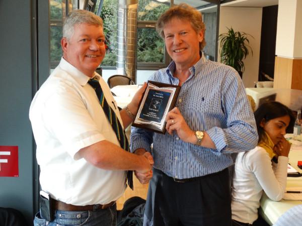 David Milne Services To Cricket Award