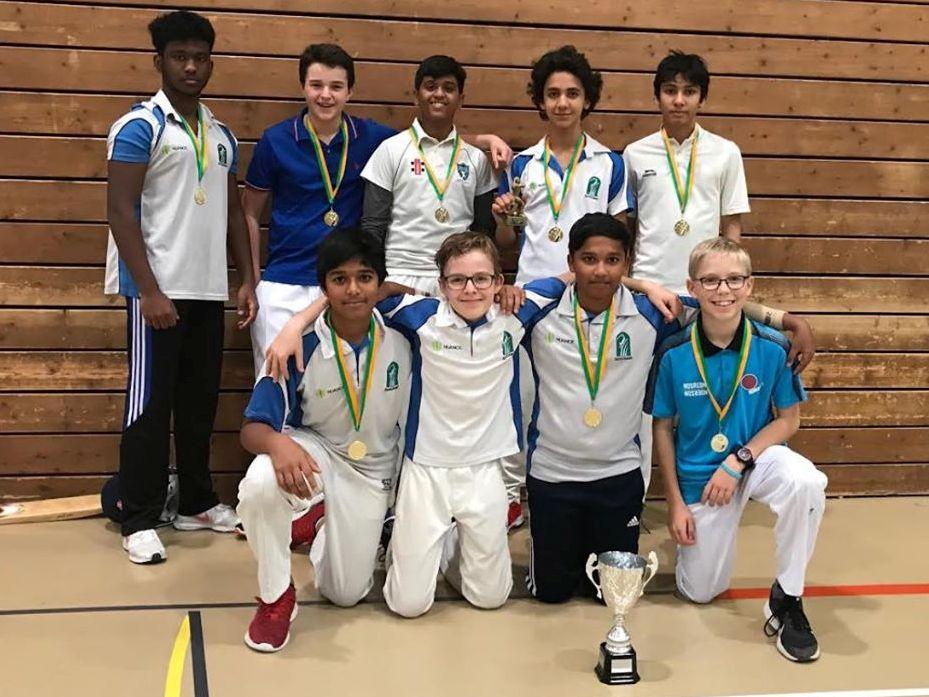 Gingins U15 indoor winners 2019