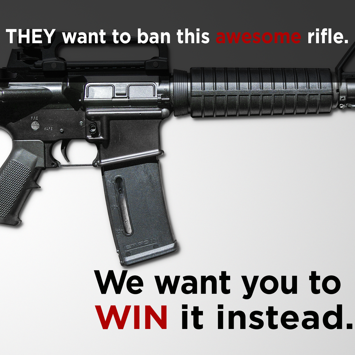 We're Giving Away an AR-15 Rifle - Enter to Win TODAY!