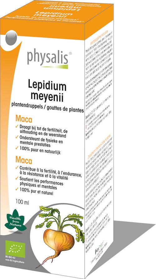Biologische Maca tinctuur  (Lepidium Meyenii)