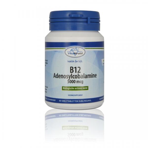 Vitakruid B12 Adenosylcobalamine 5000µg