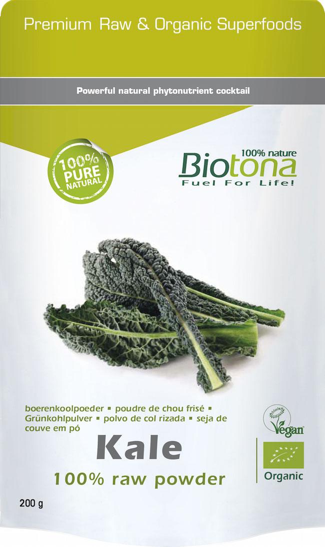 Bio Kale raw powder