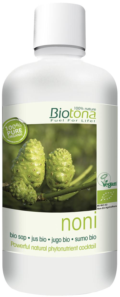 Biologisch Nonisap (Morinda Citrofolia)
