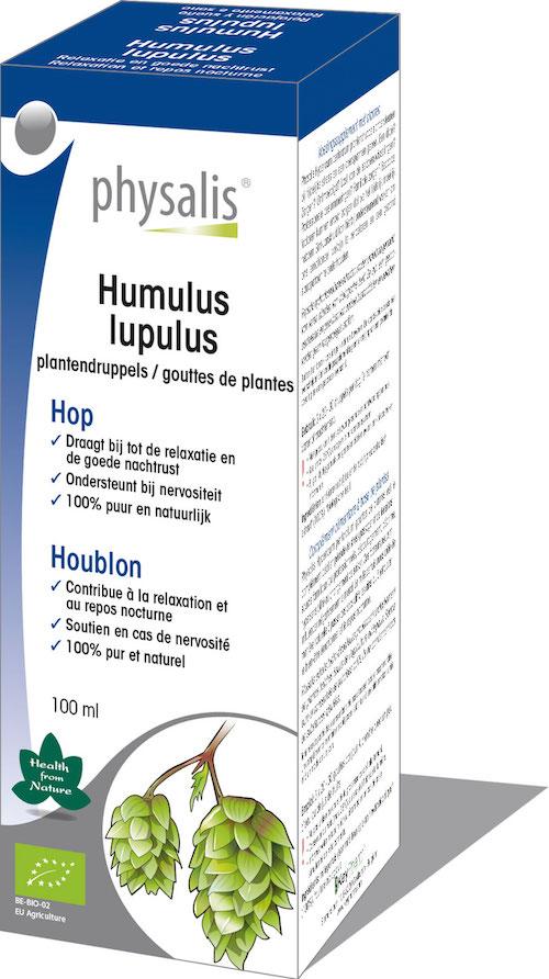 Biologische Hop tinctuur  (Humulus Lupulus)