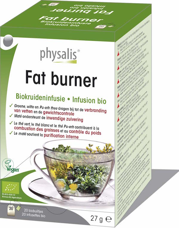 Bio Fat burner kruideninfusie