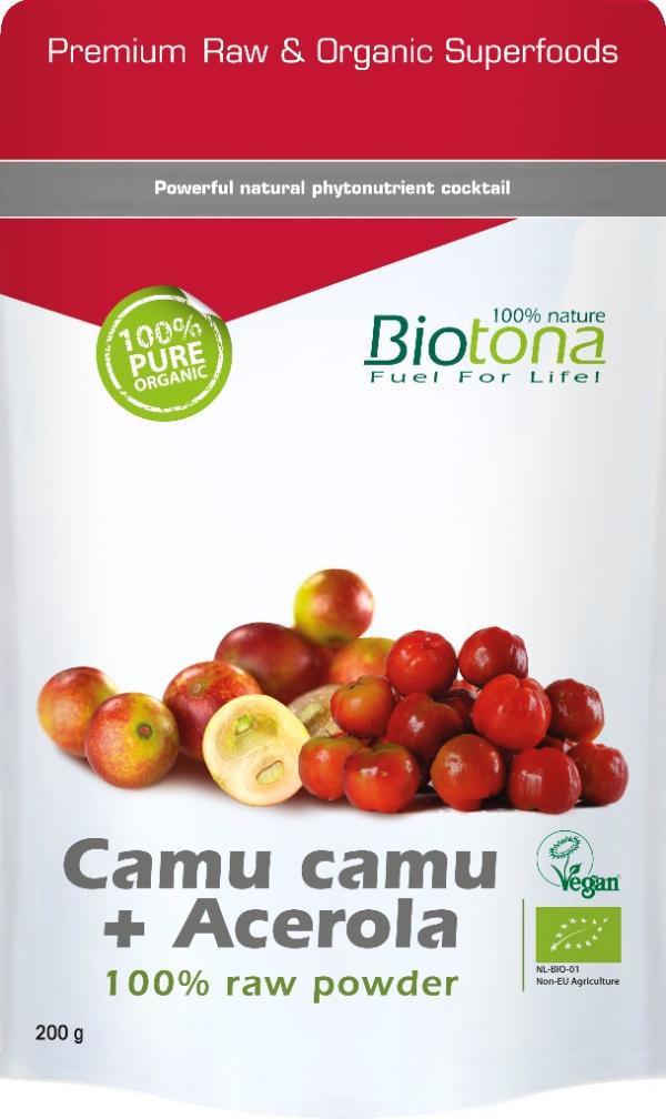 Biologisch Camu camu + Acerola raw powder