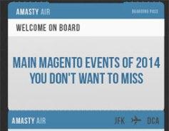 Magento events calendar with a bonus