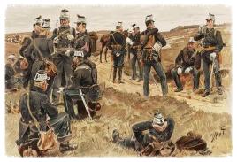 Veld-Artillerie, Marsch-Tenue, 1866 - 1880