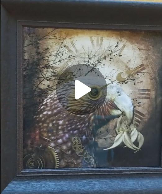 Video clip of Judi's exhibition